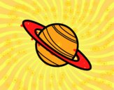 El planeta Saturno