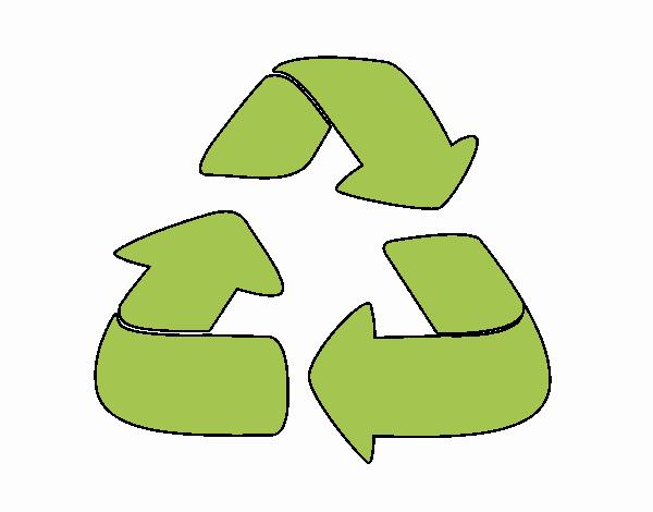 Dibujo Reciclaje pintado por Maia8a