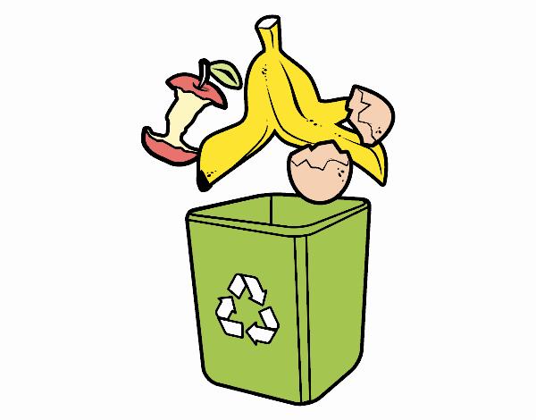 Dibujo Reciclaje orgánico  pintado por Maia8a