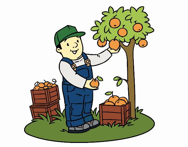 Dibujo Un agricultor pintado por Maia8a