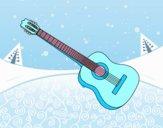 Una guitarra española