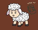 Dibujo Una ovejita pintado por BonnieStar