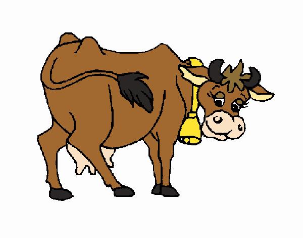 Dibujo Vaca 2 pintado por Maia8a