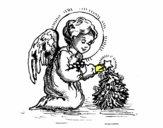 Angelito navideño
