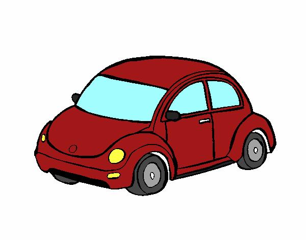 Dibujo Automóvil moderno pintado por albabm24