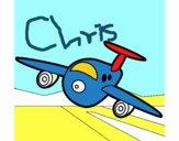 Avión aterrizando