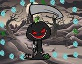 Calabaza de Halloween mortífera