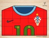Camiseta del mundial de fútbol 2014 de Croacia
