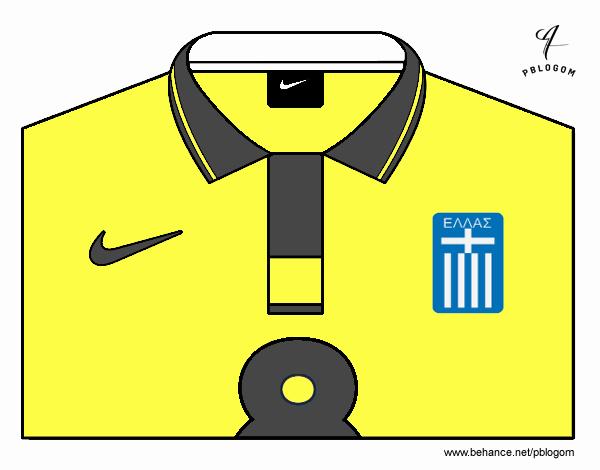 Camiseta del mundial de fútbol 2014 de Grecia
