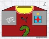 Camiseta del mundial de fútbol 2014 de Suiza