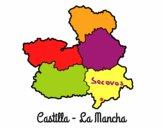 Dibujo Castilla - La Mancha pintado por Socovos