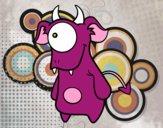 Dibujo Cíclope monstruoso pintado por Socovos