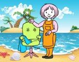 Estilista peluquera