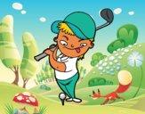Dibujo Golf pintado por Socovos