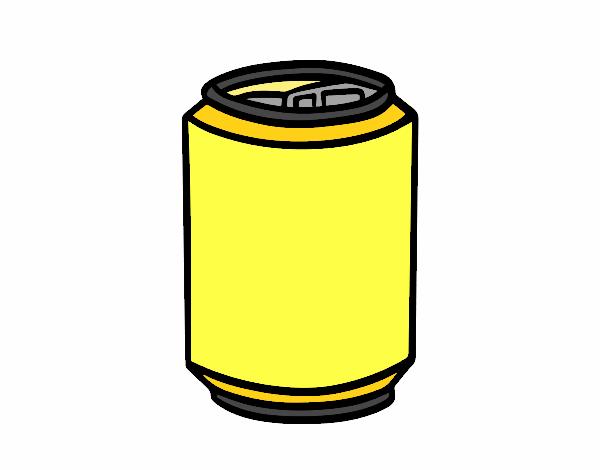 Dibujo Lata de refresco pintado por albabm24