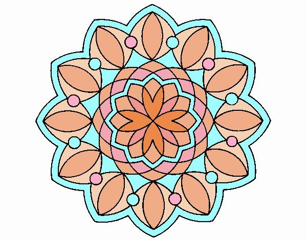 Dibujo Mandala 20 pintado por belkmar