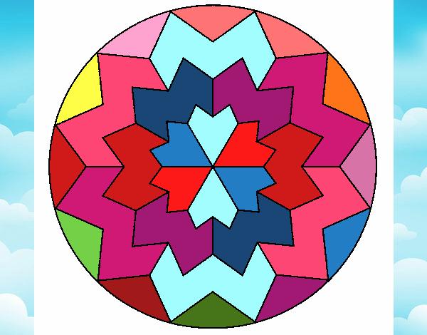 Dibujo Mandala 29 pintado por leomoya