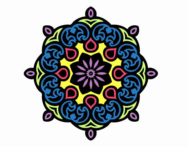 Mandala nube