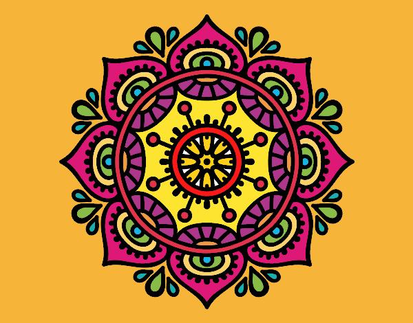 Mandala para relajarse