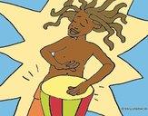 Músico africano