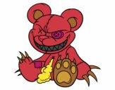 Dibujo Osito monstruoso pintado por itsnadii