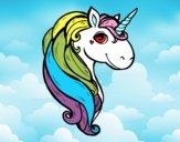 Dibujo Un unicornio pintado por xXPucchiXx