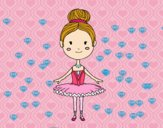 Dibujo Una bailarina de ballet pintado por ELIANAMIRA