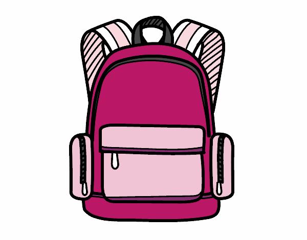 Dibujo Una mochila escolar pintado por albabm24
