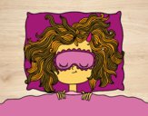 Dibujo Chica durmiendo pintado por Socovos