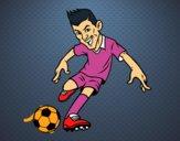 Delantero de futbol