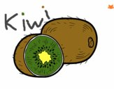 Dibujo El kiwi pintado por taradelaf