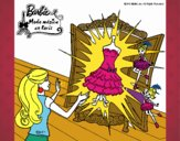El vestido mágico de Barbie