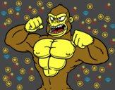 Gorila fuerte