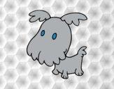 Perro grifón cachorro