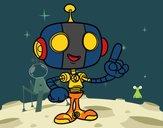 Robot simpático