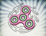 Dibujo Spinner de juguete pintado por Raquel09