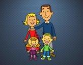 Dibujo Una familia pintado por Socovos