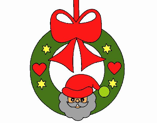 Adornos De Navidad Dibujos Para Colorear: Dibujo De Adorno Navideño Pintado Por En Dibujos.net El