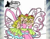 Barbie y sus amigas en hadas