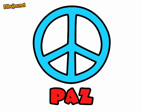 Dibujo Círculo de la paz pintado por jhaslitpms