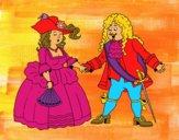 Dibujo Conde y condesa pintado por Nazaret_xs
