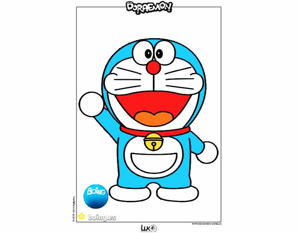Dibujo Doraemon pintado por Socovos