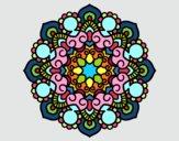 Dibujo Mandala reunión pintado por zegis