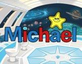 Dibujo Michael pintado por superchic