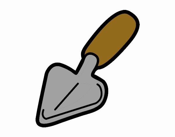 Dibujo de pala pintado por en el d a 03 12 17 for Pala de jardineria