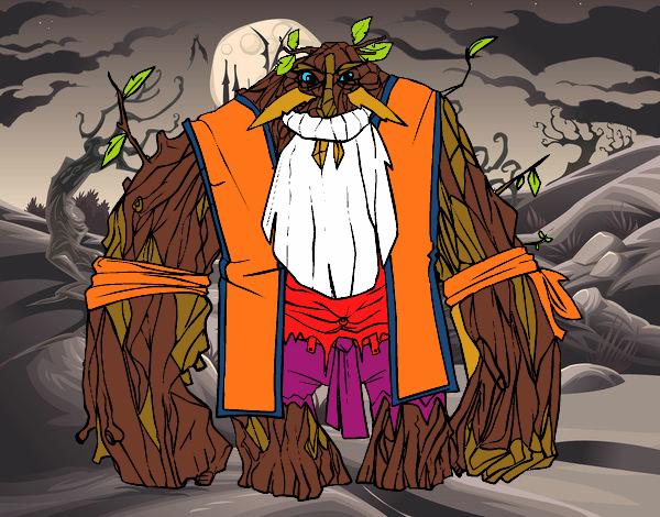Dibujo Rey de los bosques pintado por Socovos