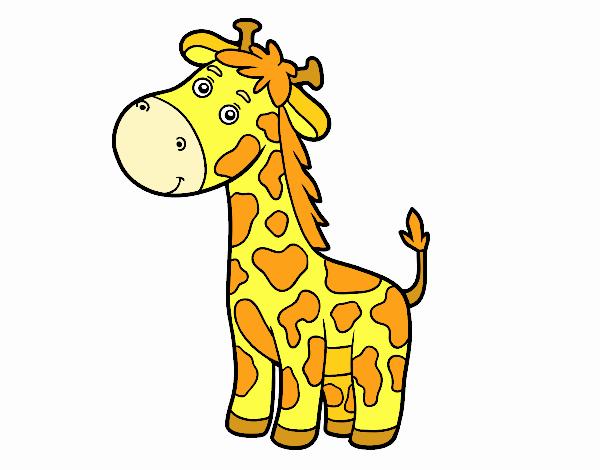 Dibujo Una jirafa pintado por jhaslitpms