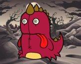 Dinosaurio monstruoso