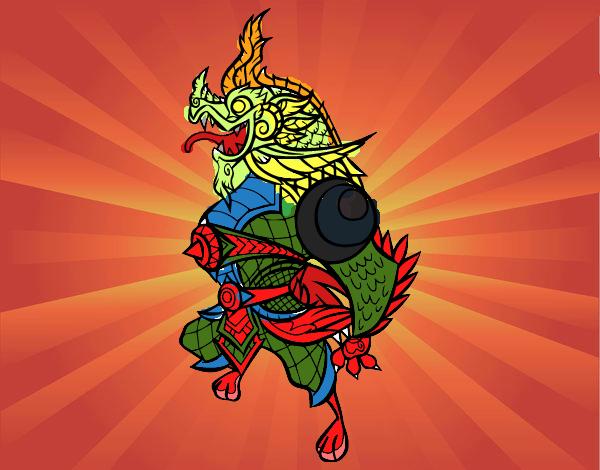 Dragón guardián