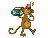 Mono de circo